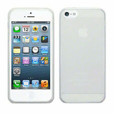 Perfect Fit TPU Gel Silicone Bumper Case Cover For iPhone 5 & 5S - Clear