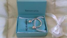 New listing Authentic Sterling Silver Tiffany Key Ring, Flannel Pouch & Box