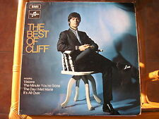 "CLIFF RICHARD - THE BEST OF CLIFF - 12"" LP - Columbia"