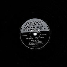 """FONTANE SISTERS 78 """" SEVENTEEN / IF I COULD BE WITH YOU """" UK LONDON HL-D 8177 EX"""