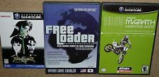 FREE LOADER Import Game Player UK NINTENDO GAMECUBE + Soul Calibur II Supercross
