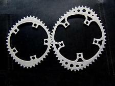 REYDEL 2 COURONNES OVALES 53/44 BCD130mm SHIMANO/SRAM (BOITE) VINTAGE PARTS 80's