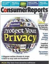 Consumer Reports Magazine June 2012 Gas Grills iPad Tablets Paints Stains SUV