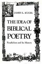 Idea of Biblical Poetry: Parallelism and Its History-ExLibrary