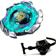 Blitz Unicorno Striker 4D Toy Metal Fusion Fight Fury Beyblade + Launcher Master