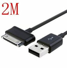 DZ546 USB Data Sync Charger Cable 2M for Samsung Galaxy Tab Tablet 8.9 10.1 ^