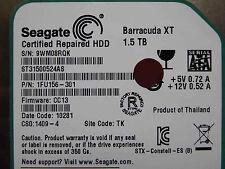 1,5 TB Seagate ST31500524AS / 1FU156-301 / CC13 / TK / 100579470 REV B hard disk