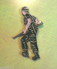 G I , GI , SOLDIER -  hat pin , lapel pin , tie tac , hatpin GIFT BOXED