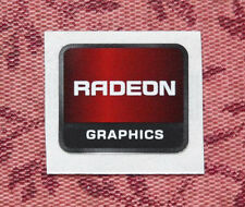 Radeon Graphics Sticker 13.5 x 16mm 2012 Version AMD ATI Case Badge USA Seller