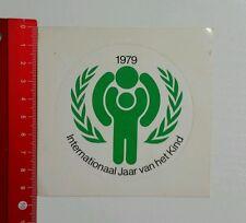 Aufkleber/Sticker: 1979 International Jaar van het Kind (02051639)
