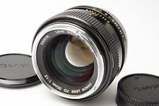 Canon FD 55mm f/1.2 MF Lens Excellent Condition #013 F-1 New F-1