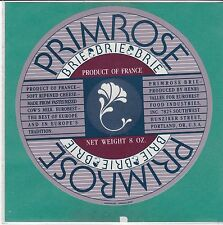 I961 FROMAGE BRIE PRIMROSE