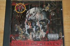 Slayer - South Of Heaven  (autographed) Kerry King