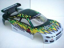 Painted White Ice 200mm 1/10 RC Touring Car Body / RC Drift Car Body