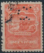 Mexico stamp Definitive (perfin) Used 1895 Mi 188 A WS221329