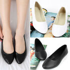 New Ladies Women Ballet Ballerina Bridal Dolly Shoes Flat Pumps Slipper 2 Colors