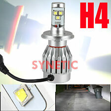 1x H4 9003 LED Headlight Hi Lo Beam 3500LM Motorcycle 6000K White 30W Cree Bulb