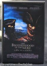 "Brotherhood of the Wolf Movie Poster - 2"" X 3"" Fridge / Locker Magnet."