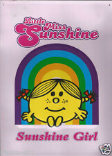 Little Miss Sunshine Mr Men Sunshine Girl Stahl Dekorativ Wandschild