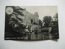 Warwick Castle from the River L&NW Railway Postcard