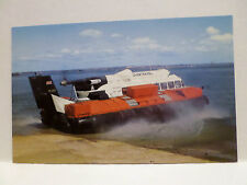 HoverTravel . Hovercraft at Ryde Isle of Wight, England Speed Boat Vessel W284
