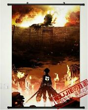 Shingeki no Kyojin Attack on Titan Scouting Home Decor Anime Poster Wall Scroll