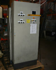 Siemens S7-200 PLC system in Rittal enclosure with TP 070 touch panel
