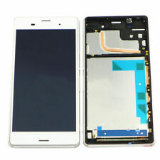 Blanco LCD Touch pantalla digitalizador + Marco For Sony Xperia Z3 D6603 D6643