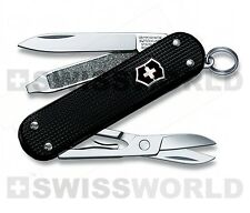 Victorinox Coltellino Multiuso 58mm Alox CLASSIC Black LTD Italy Limited Edition