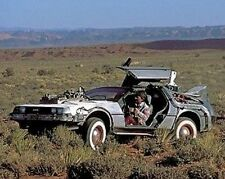 Back to the Future Marty in Delorean 10x8 Foto