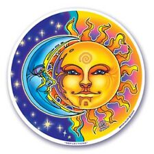 Mandala Arts Window Sticker: Reflections / Sun and Moon