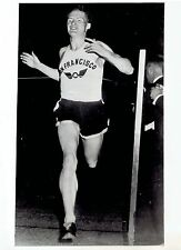 1946 Vintage Photo San Francisco Olympic Club long distance runner Norm Bright