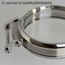 49mm STEEL HIGH GLOSS CASE for Installation Movements MOSER NARDIN DOXA UNION