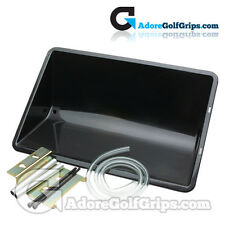 Golf Grip Solvent Catch Pan - Easily Mounts To Any Work Bench/Top
