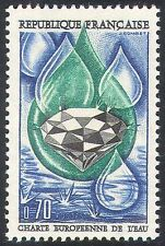 France 1969 Europa/Water Resources/Environment/Diamond/Nature 1v (n41870)