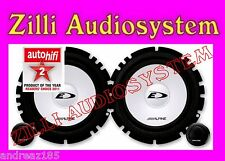 ALPINE SXE-1750S Kit casse 2 vie separate 16,5 cm. 2 Woofer +2 Tweeter 280 W New