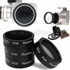 4Pcs ND4+ND8+UV+CPL Filtro Lente Por DJI Phantom 4 3 Profesional Advanced Cámara