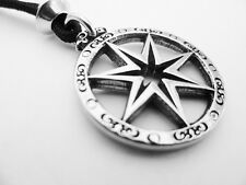 """The Faery Star Pewter Pendant, """"Elven"""" or """"Faery"""" Magick."""