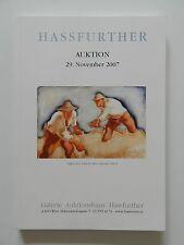 Biedermeier Klassische Moderne Auktion 29 November 2007 Galerie Hassfurther