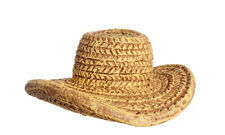 Small Resin Straw Hat, Dolls House Miniature 1.12 Scale