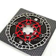 The World's Lightest Floating Rotor~ASHIMA Flo-Tor ARF-2 Disc Rotor,160mm,Red