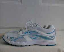 Women's Ryka 9 wide  walking shoes white and teal