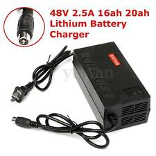 E-bike Scooter 48V 2.5A 16ah 20ah Lithium Lifepo4 Battery Charger Electric Bike