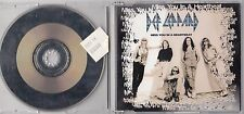 DEF LEPPARD - MISS YOU IN A HEARTBEAT CD 1994 4 TRACK SINGLE