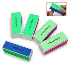 5pcs4 Way Shiner Buffer Buffing Block Sanding File Nail Art Manicure Beauty Tool