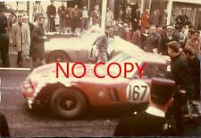 Photo Tour de France 1963 Lucien Bianchi Ferrari GTO Tour auto Pau Motor racing