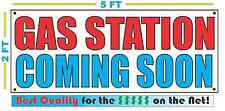 GAS STATION COMING SOON Banner Sign NEW Larger Size High Quality! XXL
