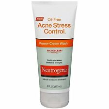 Neutrogena Acne Stress Control Prower-Cream Wash - 6 oz