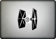 Adhesivo Vinilo Tie Fighter MacBook Todo Tamaño