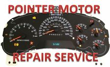 2004 GMC DENALI Instrument Cluster Gauge Stepper Motor Repair service